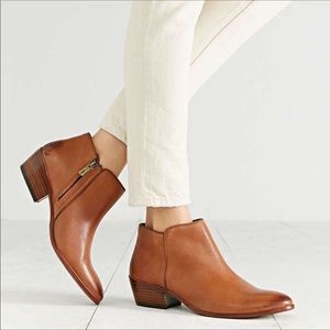 Sam Edelman Petty Brown Leather Ankle boot 7.5